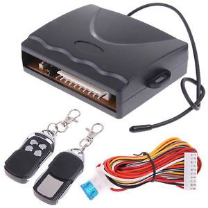 Remote Car Security System Remote Central Lock Kit Locking Keyless Entry System