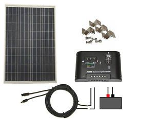 Solar Panel System Kit Power Device Portable Electric Charger Camping Generator