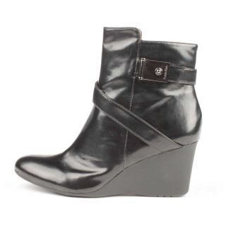 Calvin Klein Gianna Smooth Ankle Boot Black 8