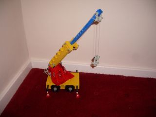 Vintage Lego Technic Set 855 Mobile Crane Complete with Box and Instructions