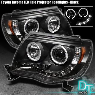 Sonar 05 08 Toyota Tacoma Halo Projector LED Headlights