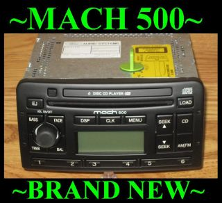 2001 2002 2003 2004 Ford Focus 6 Disc CD Changer Radio Mach 500 9006 Audiophile
