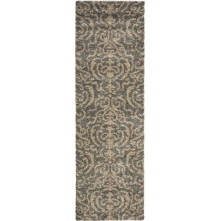 Safavieh Florida Shag Light Gray/Beige Rug