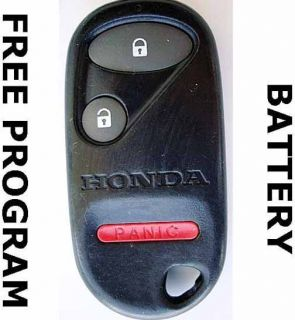 1997 1998 1999 2000 Honda Civic EX Accord SE Keyless Remote A269ZUA106
