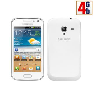 New Samsung Galaxy Ace 2 I8160 4GB White WiFi Android Unlocked Cell Phone