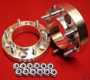 "1 5"" Wheels Spacers Adapters Ford F150 Expedition 6 Lug 6x135 Raptor"
