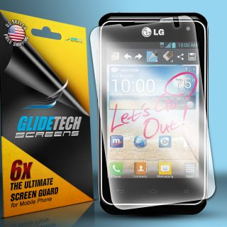 6pcs Clear LCD Screen Protector Guard Film for LG Motion 4G MS770