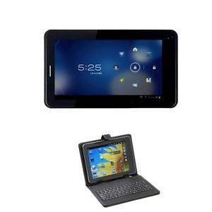 "Irulu 7"" Android 4 0 Smart Phone Unlocked Mobile Tablet GSM Bluetooth Keyboard"