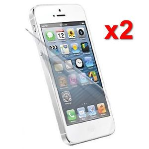 2X Clear LCD Screen Protector Film for Apple iPhone 5 6th Gen Phone Accessory