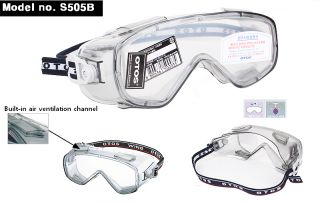 Safety Goggles Glasses Clear Anti Fog Lens Protective Eyewear Eye Protection