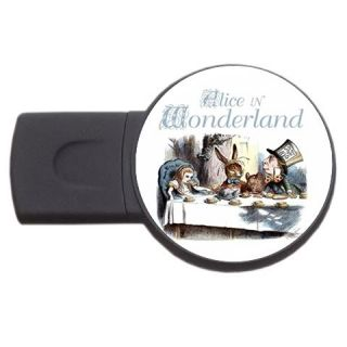 New Alice in Wonderland USB Flash Memory Drive 4GB