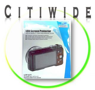 New JJC LCD Screen Protector Cover LCP A77 for Sony SLT A77V A77 US 060342