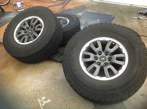 Ford Raptor F150 Expedition Wheels with Sensors and Tires
