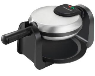 Non Stick Flip Belgian Electric Iron Waffle Maker Breakfast Small Appliance Pro