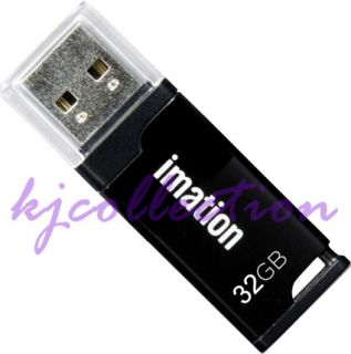 Imation US Classic 32GB 32G USB Flash Pen Drive Thumb Disk Memory Stick Black 51122289453