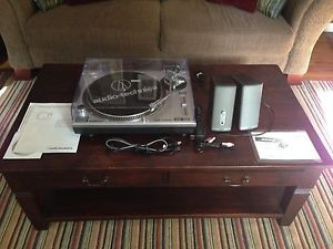 Audio Technica at LP120 USB Direct Drive Professional Turntable Bose Speakers