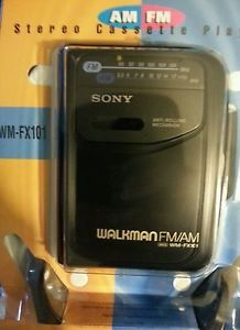 New Sony Walkman Stereo Cassette Player with Headphones Wm FX101