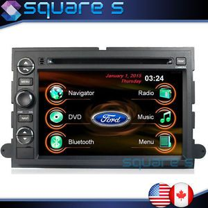 2005 06 07 Ford Five Hundred in Dash GPS Navigation DVD Car Audio Radio F250 350