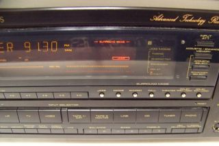 For Parts or Repair Pioneer VSX 9900s Audio Video Stereo Receiver 125 Watt