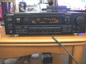 Pioneer VSX 451 Audio Video Stereo Receiver 80 Wats per Chan Includes Remote