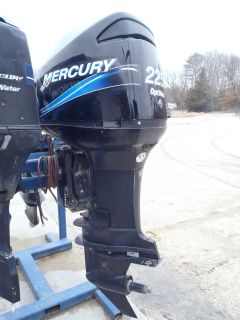 "Used 2003 Mercury 225XL Saltwater Optimax 225HP Boat Motor Outboard 25"" Shaft"