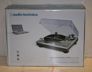 Audio Technica Direct Drive Professional DJ Turntable at LP120USB