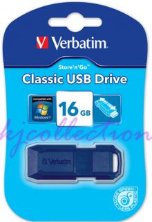 Verbatim V3 32GB 32G USB 3 0 Flash Pen Drive Disk Memory Thumb Stick Slide Black