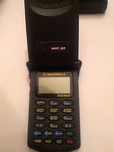 Motorola Startac 7868 Black Unlocked Cellular Phone