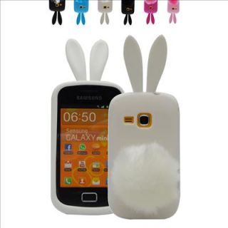Selectable Cute Bunny Rabbit Soft Case Cover for Samsung Galaxy Mini 2 S6500