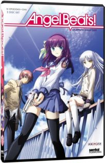 Angel Beats Complete Collection Anime DVD R1 814131011114