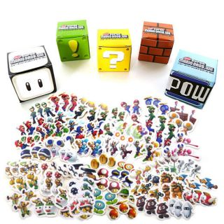 Super Mario Bros Wii Stickers Set