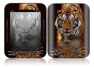 AM14 Barnes Noble Nook Color Touch Decal Skin Sticker Cover Fearless Tiger
