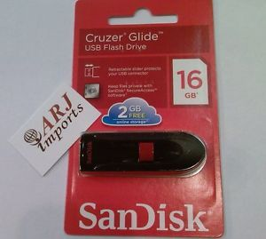 SanDisk Cruzer Fit Blade Glide USB Flash Drive Pen Drive 16GB 32 GB 64GB Stick