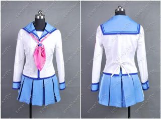 Angel Beats Yurippe Yuri Cosplay Costume