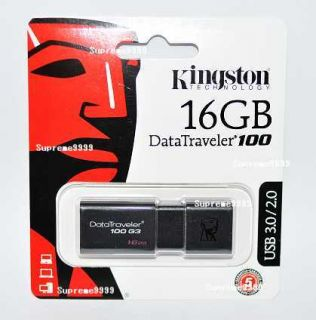 Kingston 16GB DataTraveler USB Flash Drive