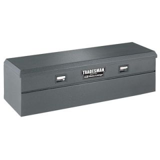 Tradesman Rhino Lined Flush Mount Single Lid Truck Tool Box & Reviews
