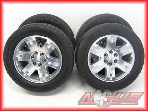 "20"" GMC Yukon Denali Tahoe LTZ Sierra Polished Wheels Goodyear Tires 22 18"