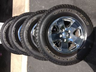 "17"" Dodge RAM Wheels and Goodyear Tires"