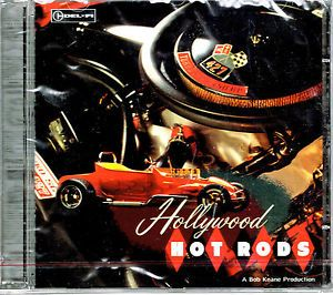 Hollywood Hot Rods Various Artists Del Fi CD Brand New Factory SEALED 731867127028