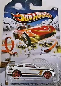 New 2013 Hotwheels Holiday Hot Rods 12' Ford Mustang Boss 303 Laguna Seca 1