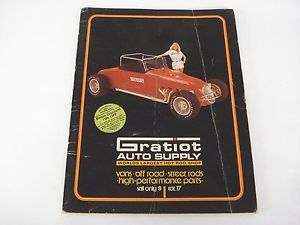 Vintage 1977 Gratiot Auto Supply Catalog 17 Hot Rods Street Rods Muscle Cars