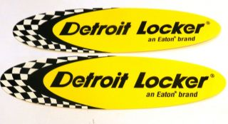 Detroit Locker Racing Decals NHRA Offroad NASCAR Muscle Drags Hot Rods Drags