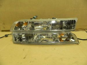 Lincoln Mark VIII 8 Headlight Assembly Set Pair 1996 HID LSC
