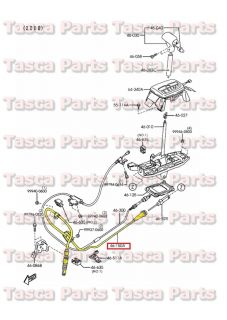 New Automatic Gear Change Shifter Control Cable 2 0L 1998 2002 Mazda 626