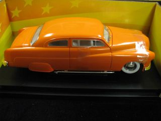1951 Ford Mercury Orange American Muscle Ertl Collectibles 1 18 Car Mint