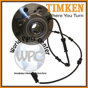 TIMKEN New Front Wheel Bearing Hub Assembly Fits Dodge with ABS 4x4 4WD 8 Stud