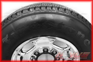 "17"" Chevy Silverado Sierra 2500 8 Lug Wheels Firestone Tires 2011 18 20"