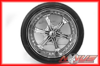 "20"" VCT Chrome Cadillac cts Wheels Yokohama Tires 5x127 5x115 18 24 22 21"