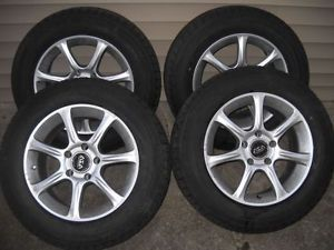 4 215 65 16 Blizzak Winter Snow Tires on 5x120 mm ASA Wheels Rims BMW