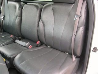 2001 2002 Chevy Silverado 3500 WT Driver Side Bottom Vinyl Seat Cover Dark Gray